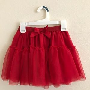 Red skirt (H&M)💗
